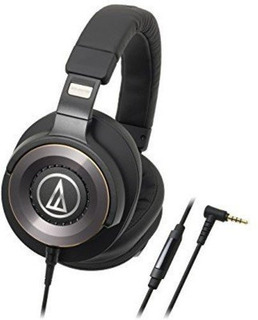 Audio Technica Solid Bass Over-ear Headphones With In-line M