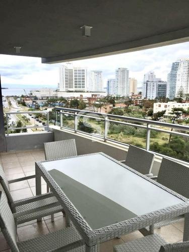 Apartamento, 3 Dorm, Punta Del Este, Brava, Alquiler- Ref: 4060