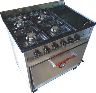 Cocina Múltiple Ab/ 4h + Plancha - 85 Cm