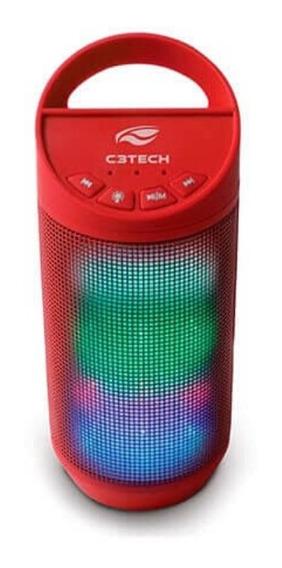 Speaker Bluetooth Beat Sp-50rd C3tech Portátil Promoção