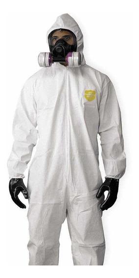 Overol Desechable Tipo Tyvek Protección , Guantes De Regalo