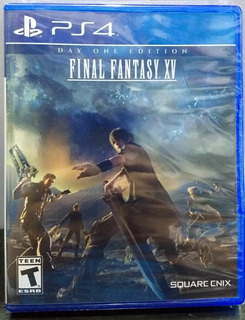 Final Fantasy Xv Day 1.-ps4