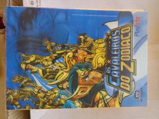 Box Dvd Cavaleiros Do Zodiaco Vol. 9 Ao 11 Capa Holográfica