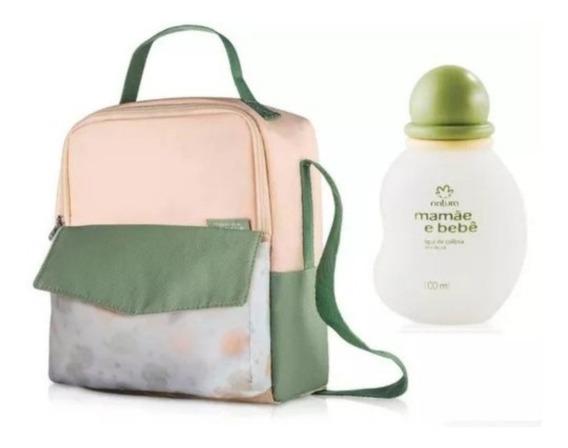 Kit Mamãe Bebê Bolsa + Colonia