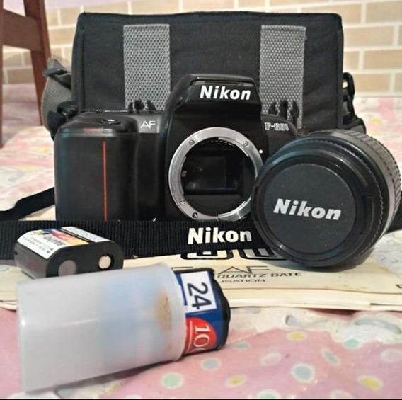 Câmera F- 601 Nikon Zero Bala