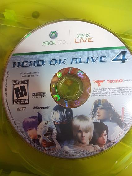 Dead Or Alive 4 Original Xbox 360