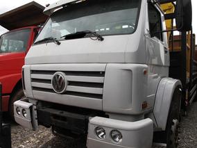 Caminhão Munck / Guindaste Vw 16.170 Bt Carroceira De Aço