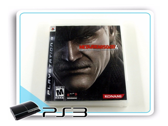 Ps3 Metal Gear Solid 4 Original Playstation 3