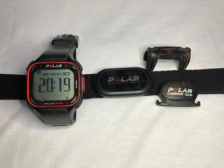 Relógio Polar Rc3 Gps, Sensor Cardiaco + Sensor De Cadencia