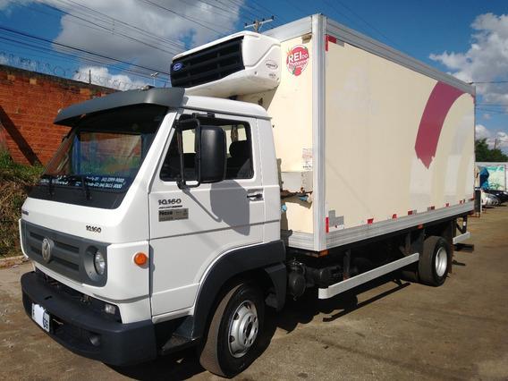 Caminhão Vw 10160/16/17 Baú Frigorifico Gancheira