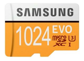 Cartão De Memória Samsung Evo 1 Tera. Leitor Grátis!