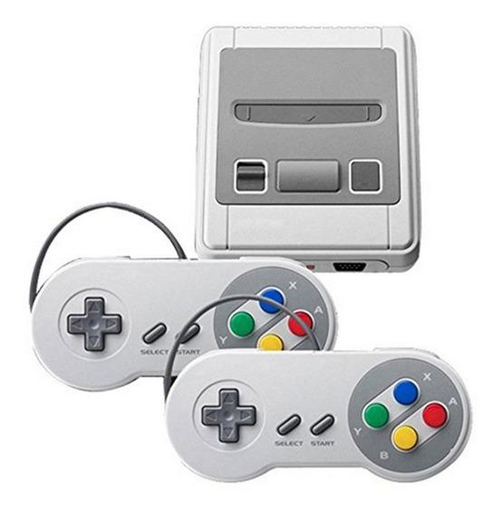 Mini 620 Jogos Classicos Super Sfc 8 Bits Bivolt 2 Controles
