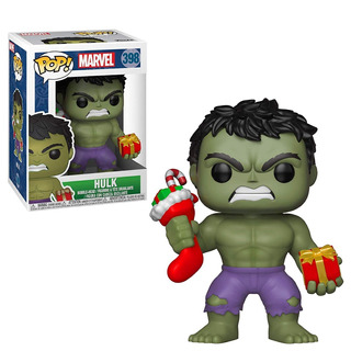 Funko Pop Marvel: Holiday - Hulk With Stocking