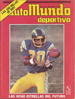 Revista Colección Automundo Deportivo #132 Agosto 1981