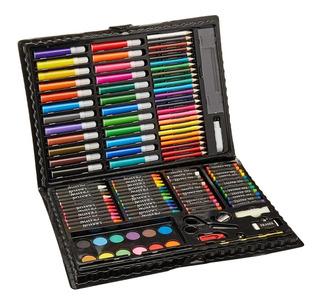 Darice 120 Piezas Deluxe Set Kit Colores Suministros Dibujo