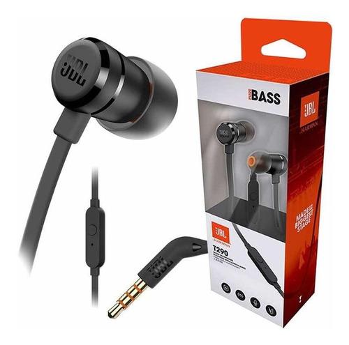 Audífonos Jbl T290 Pure Bass Auriculares Potentes Originales
