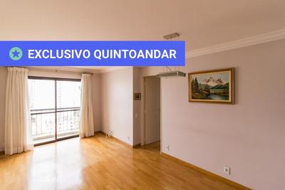 Apartamento No 14º Andar Mobiliado Com 2 Dormitórios E 2 Garagens - Id: 892930859 - 230859