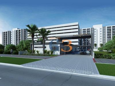Apartamento Com 2 Dormitórios À Venda, 52 M² Por R$ 245.000 - Areal - Pelotas/rs - Ap3670