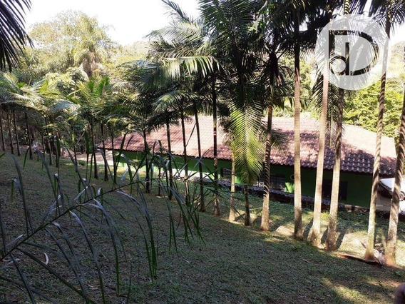 Chácara Com 2 Dormitórios À Venda, 5000 M² Por R$ 745.000 - Arataba - Louveira/sp - Ch0166