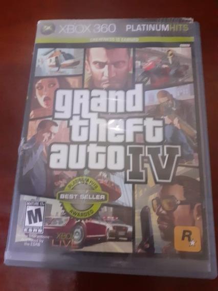 Jogo Xbox 360 Gta 4 No Estado