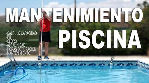 Imagen 1 de 10 de Mantenimiento Semanal De Piscinas