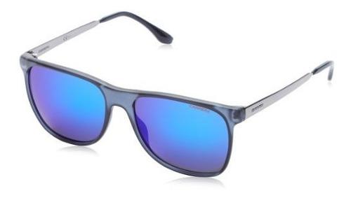 Gafas De Sol Wayfarer Carrera Ca6011s, Azul Transparente, 57