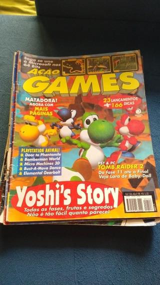 Lote Revistas Ação Games