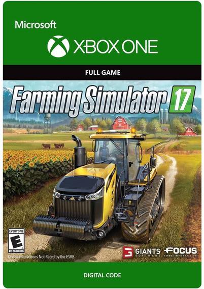 Farming Simulator 2017 - Xbox One - Codigo 25 Digitos Br
