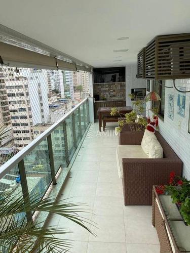 Apartamento Com 3 Dormitórios À Venda, 120 M² Por R$ 1.200.000,00 - Icaraí - Niterói/rj - Ap4249