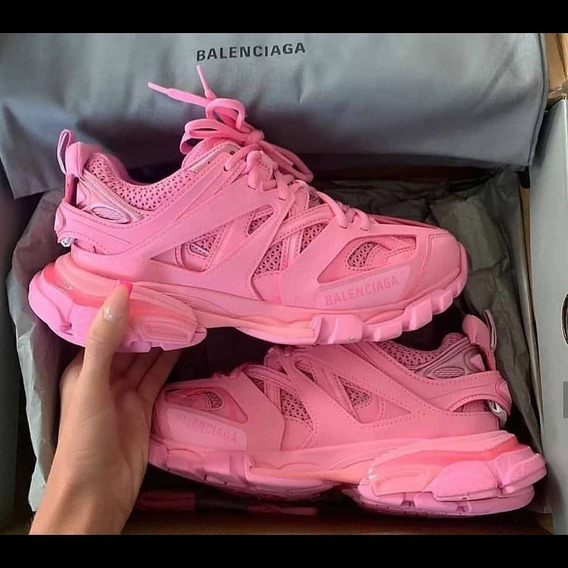 Tenis Balenciaga, Color Rosa