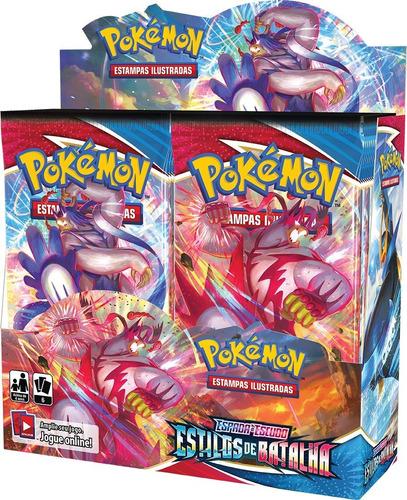 Card Game Pokémon Ee5 Booster Box Estilos De Batalha Copag