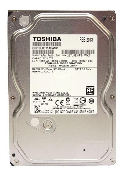 Disco Rigido Toshiba 1tb Sata 6.0gb
