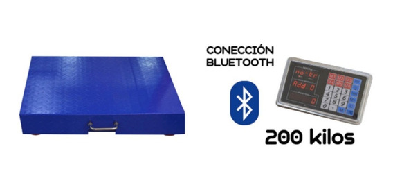 Gramera Digital De 200 Kg Bluetooth Industrial