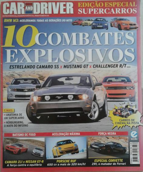 Revista Car And Driver Edição Especial Supercarros Número 1
