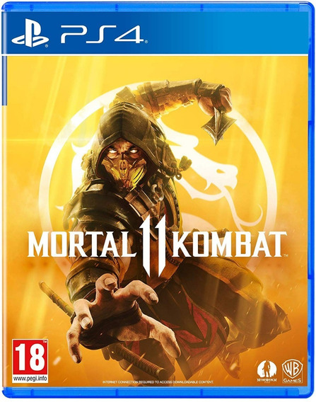 Game Mortal Kombat 11 Ps4 Disco Fisico Novo Lacrado Dublado