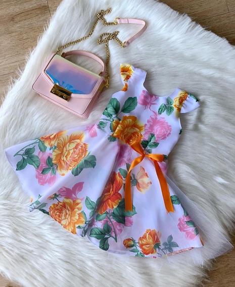 Vestido Infantil 4 Anos Tule