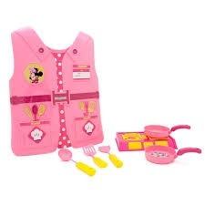 Kit Fantasia Cozinha Infantil Minnie Disney Completa Didatic