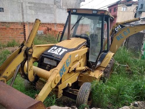 Retro Escavadeira Caterpillar 416-d Ano 2005