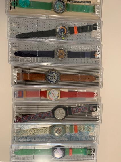 Relogios Swatch, + Modelos,anos 90,automatico,solar E Quartz