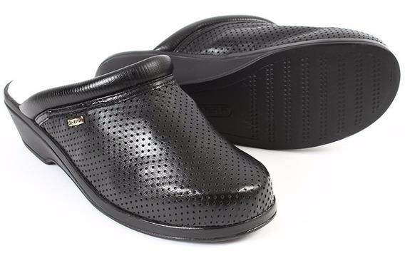 Zapatos Calzado Zuecos Vestir Dama 4451 Onena Negro