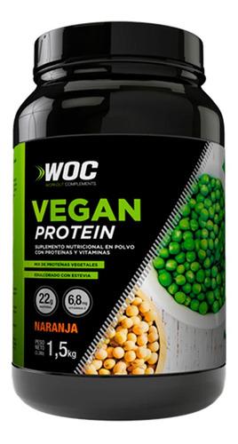 Proteina Vegana Woc 1500gr Sabor Naranja | Xenex |