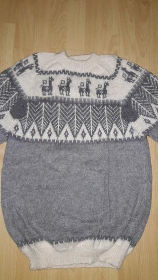 Sweater De Lana De Alpaca Y Llama