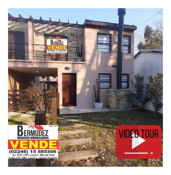 Hermoso Duplex De 4 Amb En Mar Del Tuyu Calle 89 E/3 Y 4