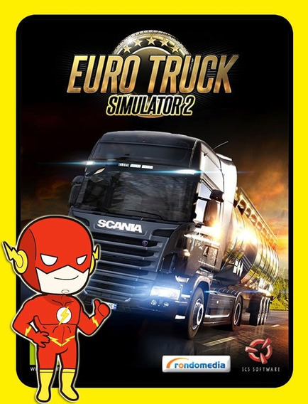Euro Truck Simulator 2 Pc - Steam Key (envio Flash)
