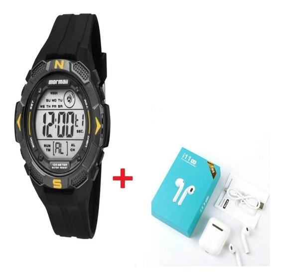 Relógio Mormaii Masculino Mo2908/8y Com Nf E Brinde