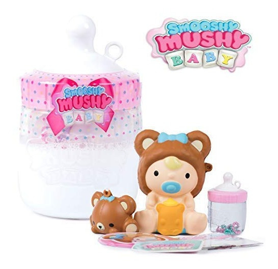 Smooshy Mushy Baby Juguete Squishy Grande Bebe Y Mascota