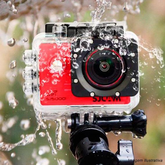 Câmera Sjcam Sj5000 Wifi Original 14mp 170º Full Hd Vermelha