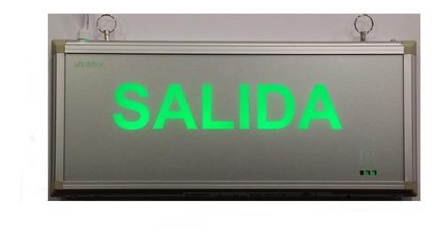 Cartel Señalizador Atomlux Salida Ultra Slim