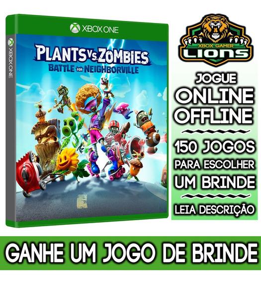 Plants Vs Zombies Batalha Neighborville Xbox One + Brinde