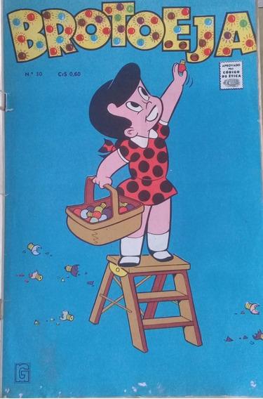 Brotoeja Nº 30 - Antigo E Raro Gibi - Rio Gráfica - 1970